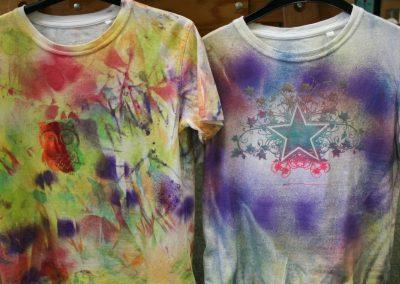 Winterferien: T-Shirts bemalen
