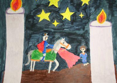 Lichtermarkt und Flohmarkt zu Gunsten der Jungen Künste