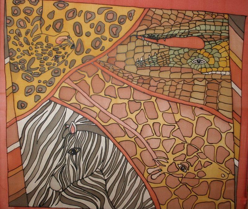 Herbstferien – Seidenmalerei