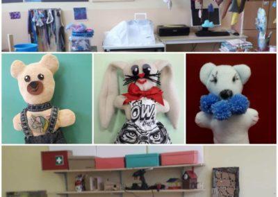 Ordnungshelfer mit Bär und Hase erstellen