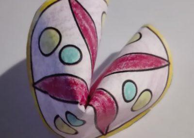Glückskeks aus Papier