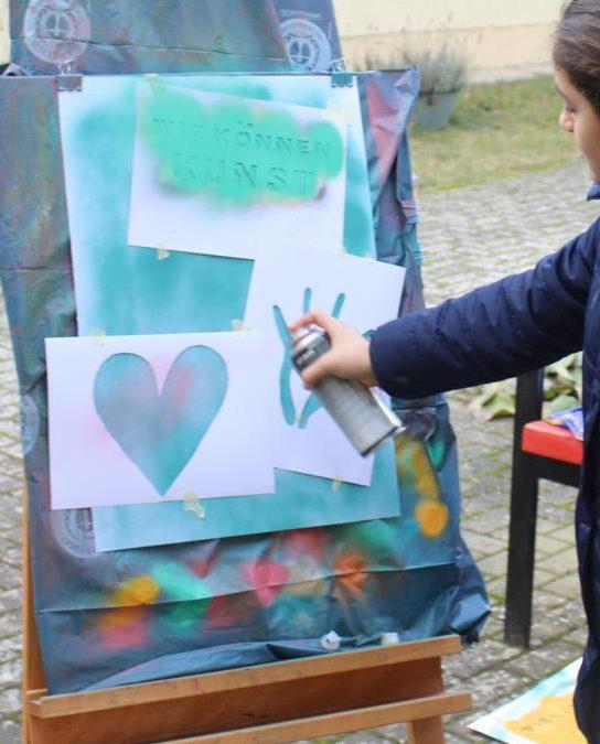 05./06.10. Graffiti Workshop mit Stencil – Technik